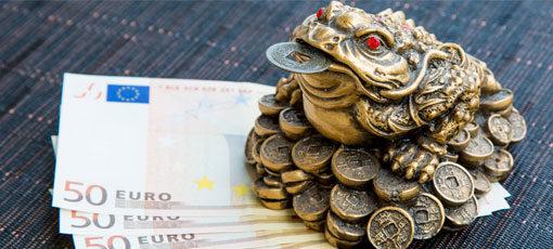 Gehaltsaussichten eines Feng-Shui Beraters