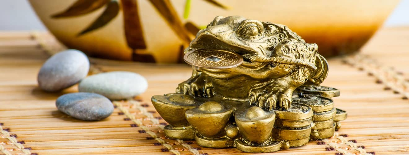 Feng-Shui Money Frog