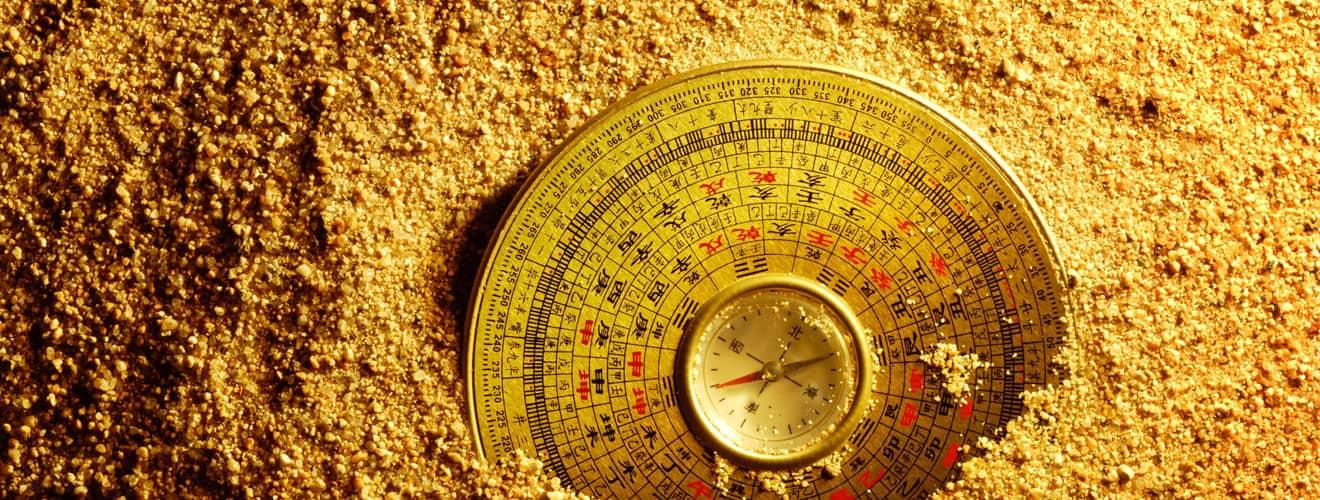 Der klassische Feng-Shui Kompass - Lou Pan