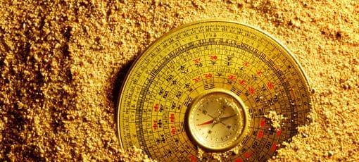Der Feng-Shui Kompass
